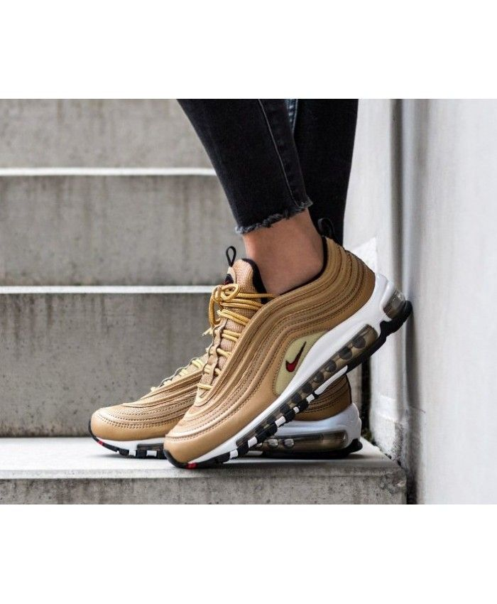 Gold Air Max 97 Outfit : outfit, Metallic, Trainers, Sneakers, Outfit,, Nike,, Sneaker