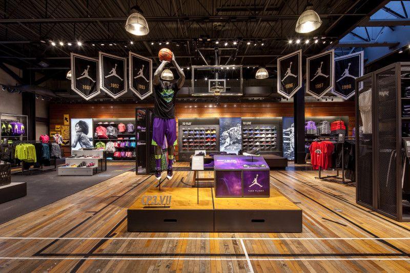 Nike brand experience store- Atlanta | Visual Merchandising