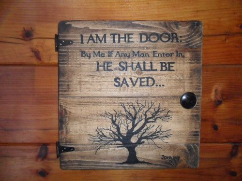 Tree Of Life Wall Hanging With Bible Verse Country Rustic