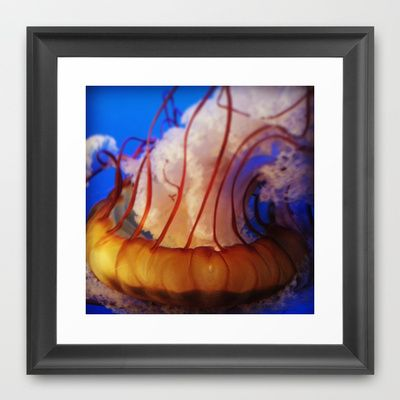 Jellies Framed Art Print by ZombieCupcake - $32.00