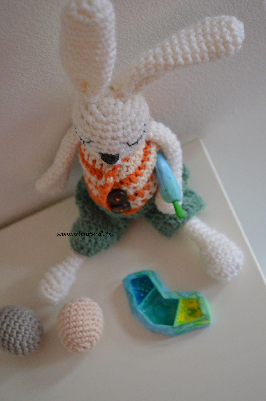 Gratis Häkelanleitungen | Schaut mal | # Bunny # | Pinterest ...