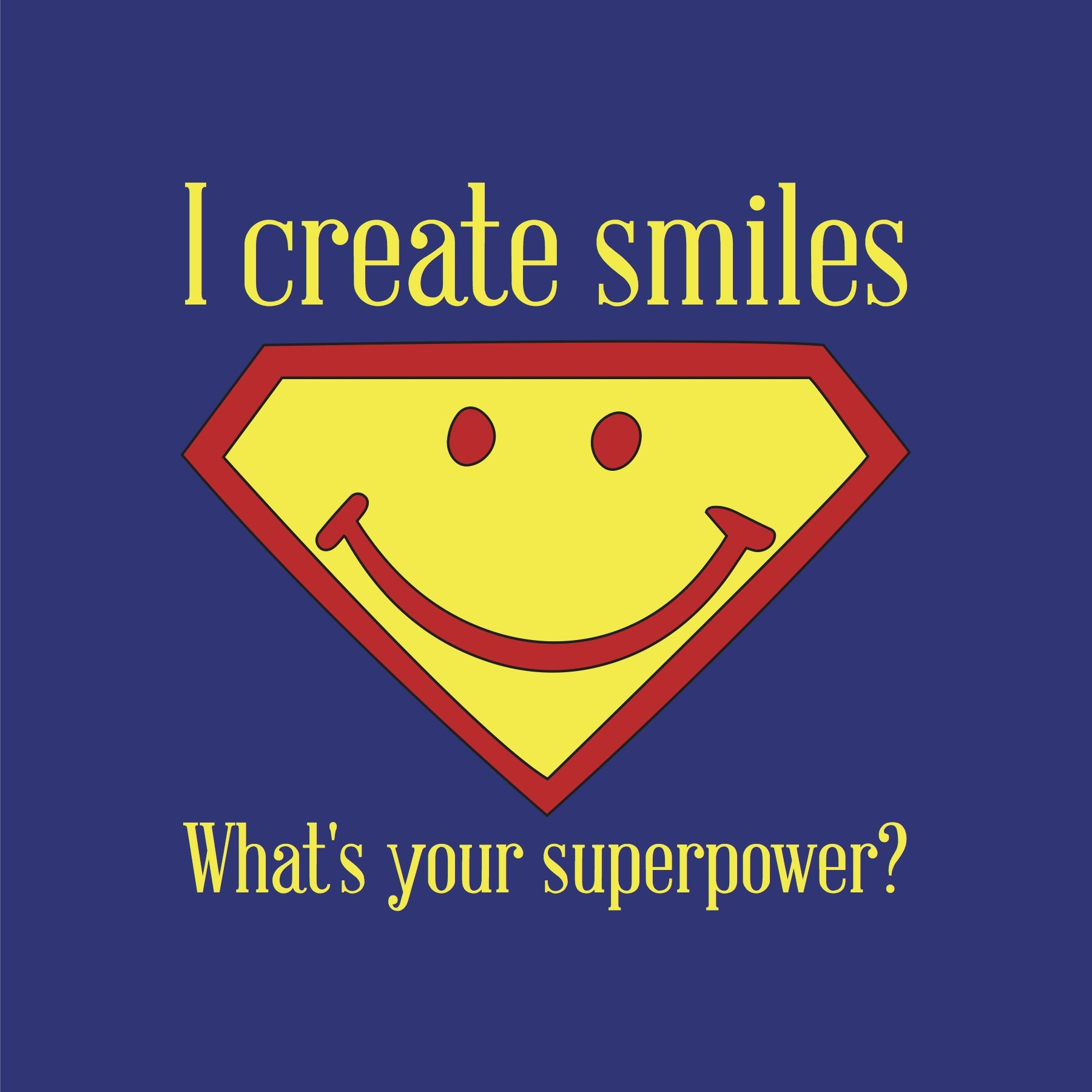 It's World Smile Day. U can uplift others with a smile ...