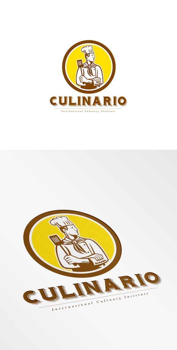 Culinario International Logo by patrimonio on @creativemarket