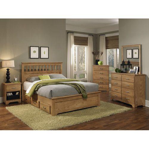 Carolina Furniture Works, Inc. Sterling Queen Panel Customizable Bedroom Set