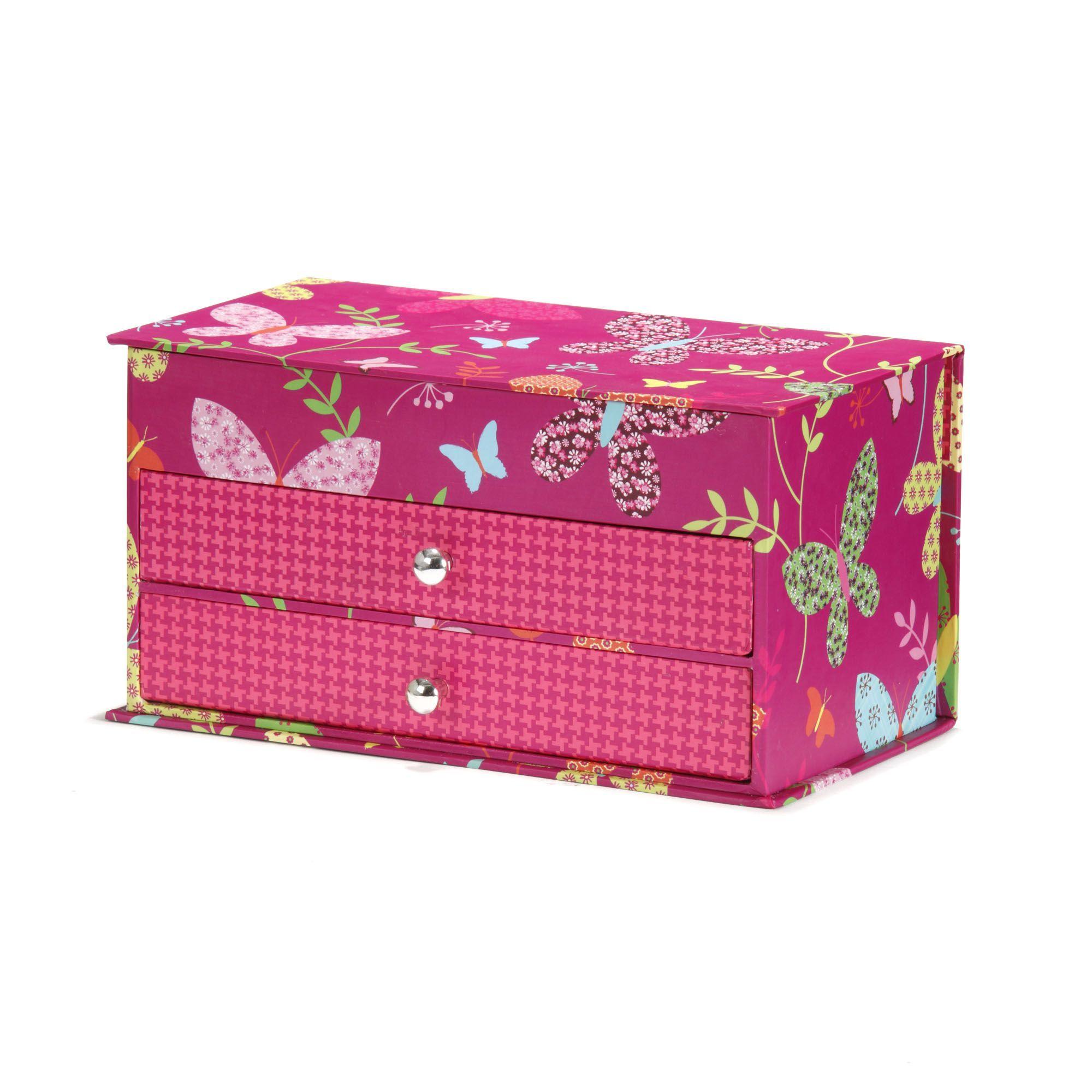 boite bijoux rose carty objets de d co enfants d coration pour enfant univers des. Black Bedroom Furniture Sets. Home Design Ideas