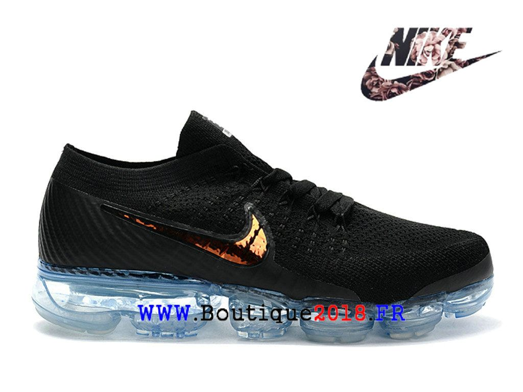 a638b6b00e6 Nike Air VaporMax - Chaussure de Running Nike Pas Cher Pour Homme Noir Or