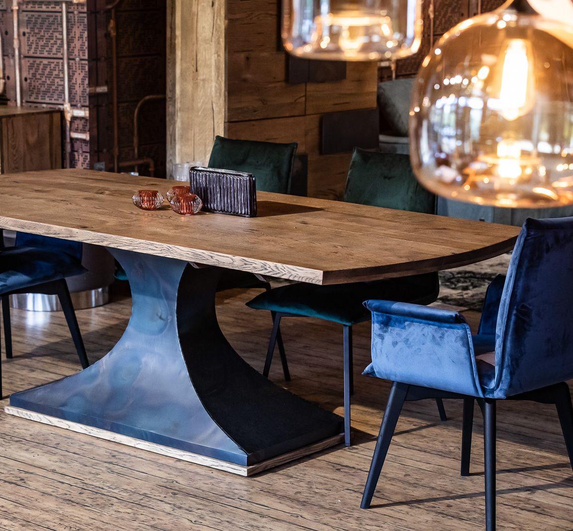 Edler Esstisch Aus Eichenholz Tisch Esstisch Eiche Holz