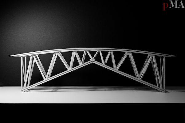 Balsa Wood Bridge Strongest Design Madera Balsa Puentes Disenos De Unas