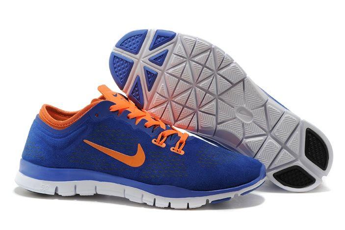 cheap for discount bd8fb b9c78 Cheap Nike Free 5.0 Mens TR Royal Blue FIT Training Shoes Orange, AUD   95.97   www.footswears.com