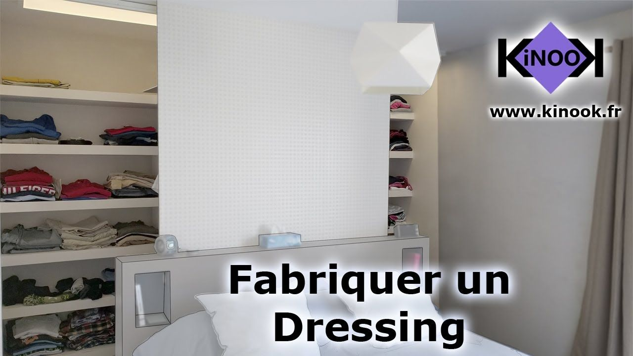 Video Tutoriel Construction Du Dressing Fabriquer Dressing Dressing Chambre Faire Un Dressing