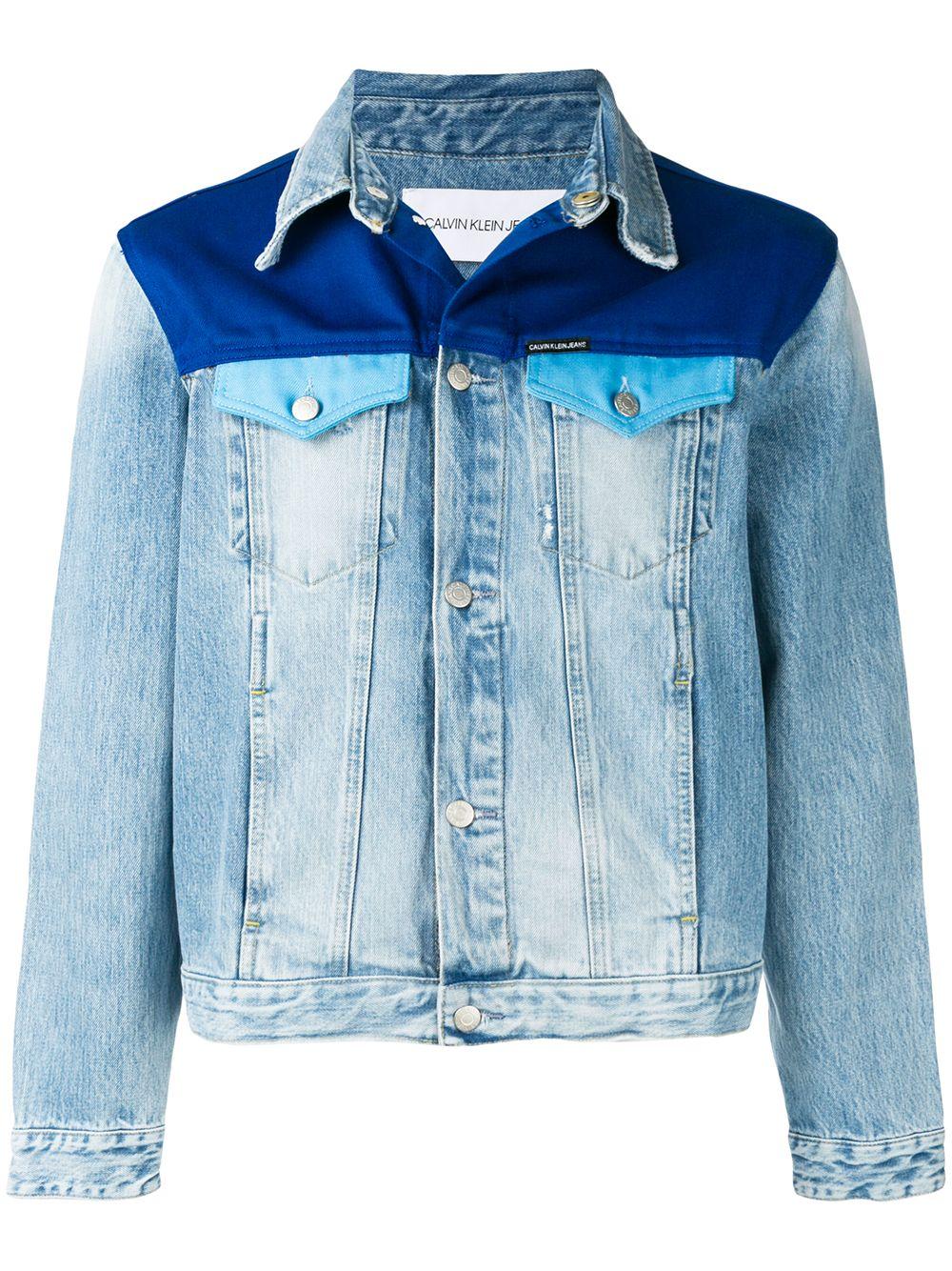 Calvin Klein Jeans Panelled Denim