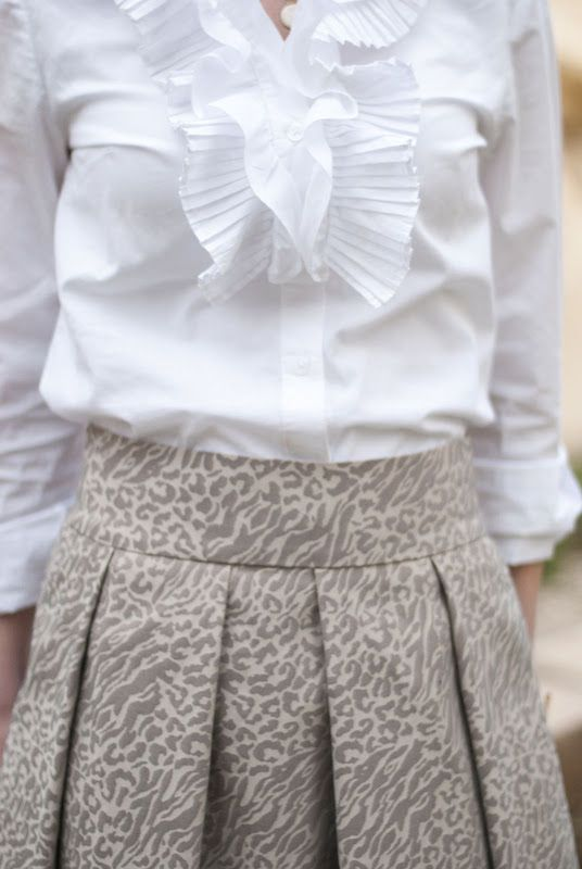 Gilded skirt tutorial
