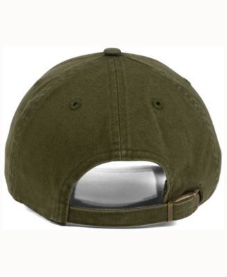 47 Brand Los Angeles Dodgers Olive White Clean Up Cap - Green Adjustable 67fd0696c3c7