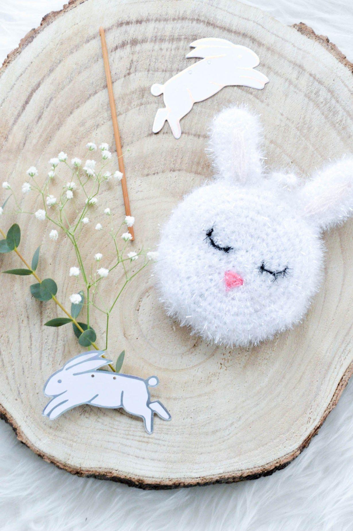 Éponge de lapin – mon coeur au crochet   – Ostern Rezepte und DIY Ideen
