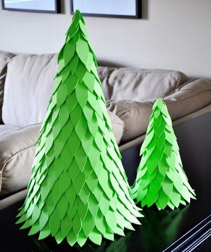 arbol de navidad casero - Arbol De Navidad Casero