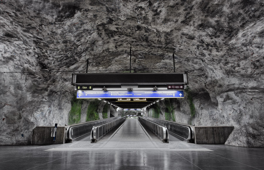 The Stockholm Metro by Alexander Dragunov