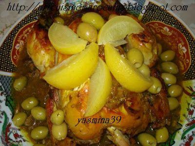 Art et Cuisine Marocains: Poulet rôti à la marocaine