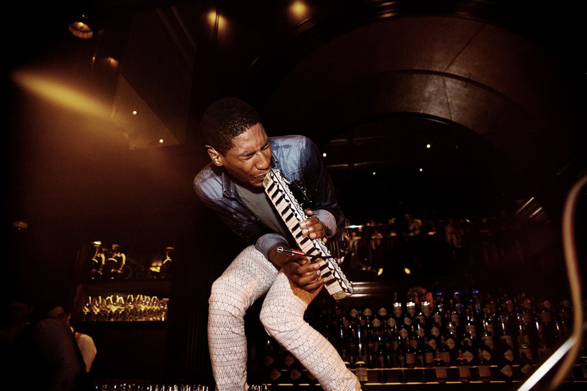 Jon Batiste: Getting Ready to Jam with Colbert   The New Yorker