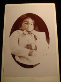 Deceased Young Boy with Bow Tie Postmortem #48
