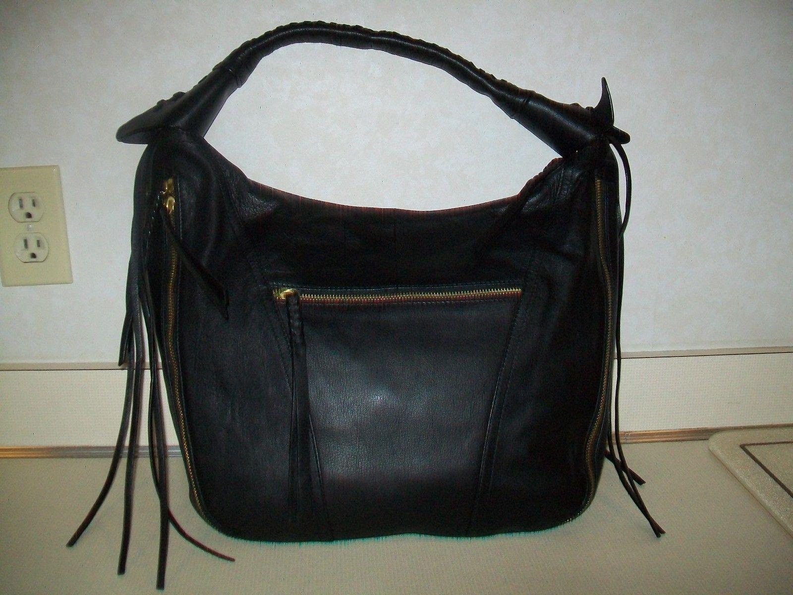 8ea47a5ef4 orYANY Soft Nappa Leather MICHELLE Purse Handbag Hobo QVC   A270292 Black  NWT  114.99