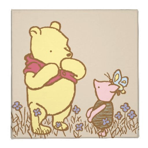 Pooh And Piglet In Field Classic 3 Ring
