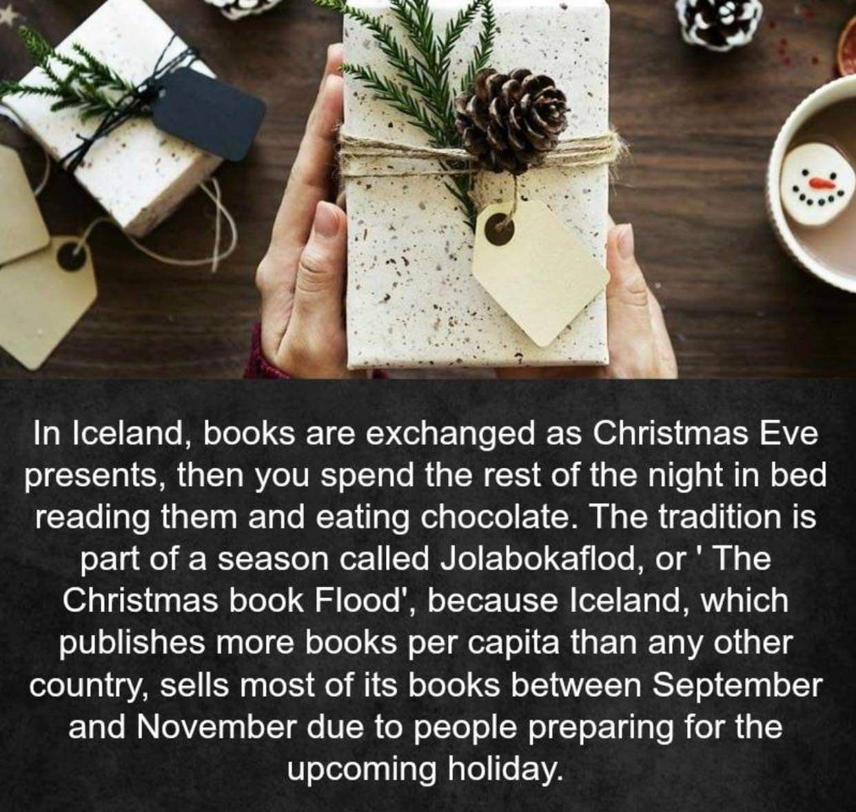 My Grandparents Always Bought Me A Book For Christmas Iceland Christmas Christmas Books Christmas Eve Traditions
