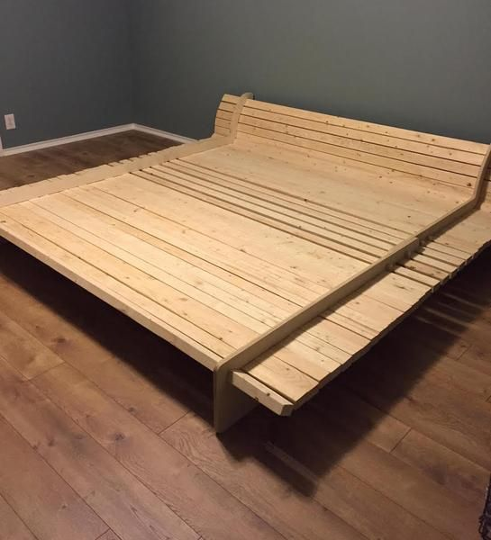 Diy Bed Frame Kit Diy Bed Frame Diy Bed Diy Platform Bed