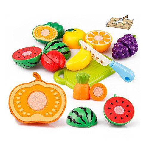 kaifongfu Toys20PC Cutting Fruit Vegetable Pretend Play Children Kid Educational Toy *** Check out this great product.Note:It is affiliate link to Amazon.
