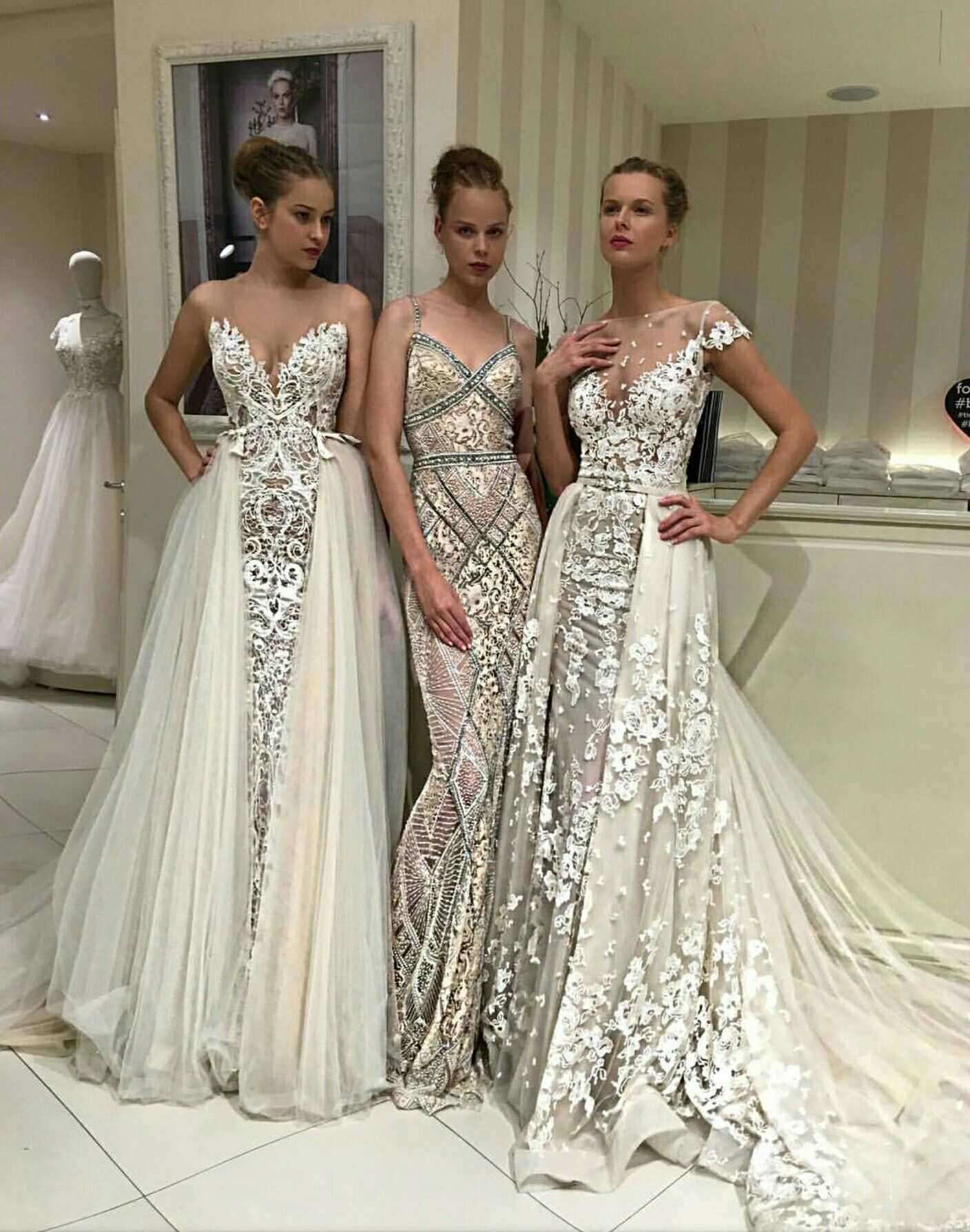 Gorgeous detailed wedding dresses | Dream Wedding | Pinterest ...