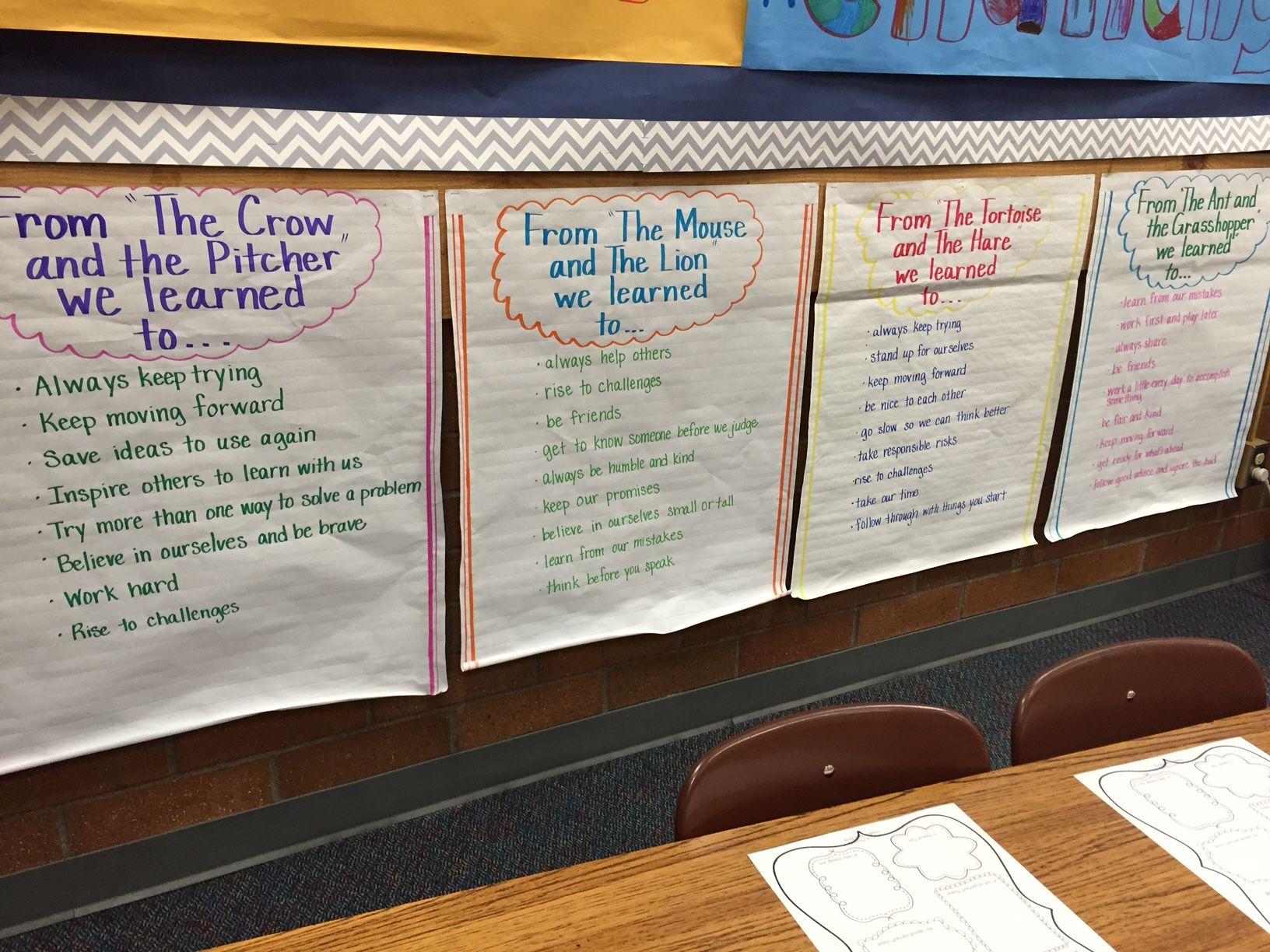 Growth Mindset Using Aesop S Fables I Love Using These