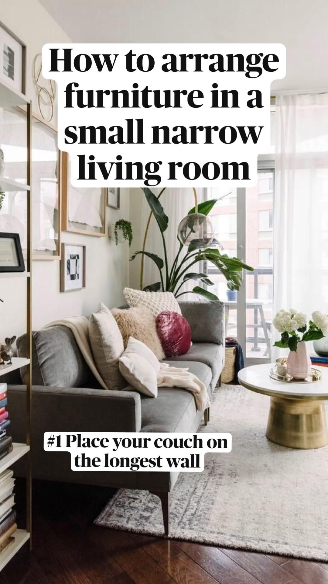 How To Arrange Furniture In A Small Narrow Living Room An Immersive Guide By Malena Permentier Conversations That Matter