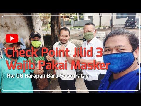 (1510) Wajib Pakai Masker !!! Check Point PSBB Jilid 3