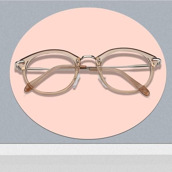 3aa8685b6b ROYAL GIRL High Quality TR Frame Fashion Glasses Women Eyeglasses frame  Vintage Brand Deaigner Round Clear Lens Glasses os012