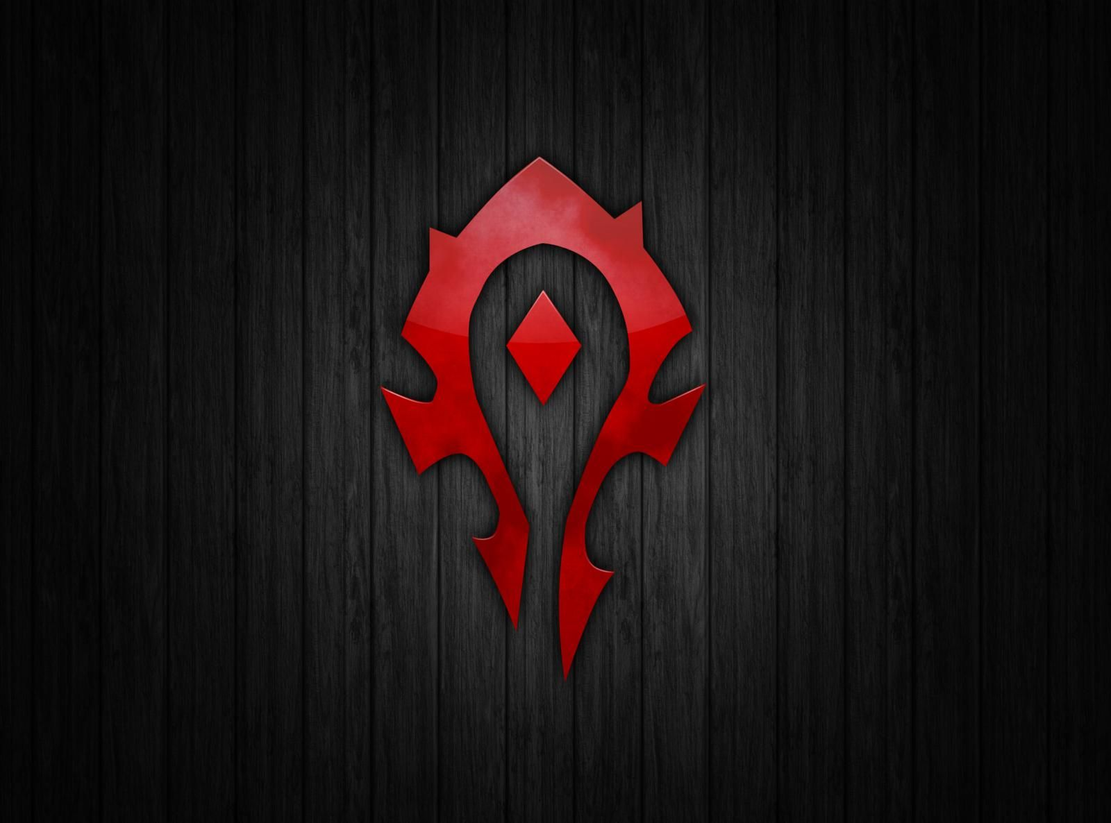 Horde Logo Wallpapers World Of Warcraft Wallpaper Horde Computer Wallpaper