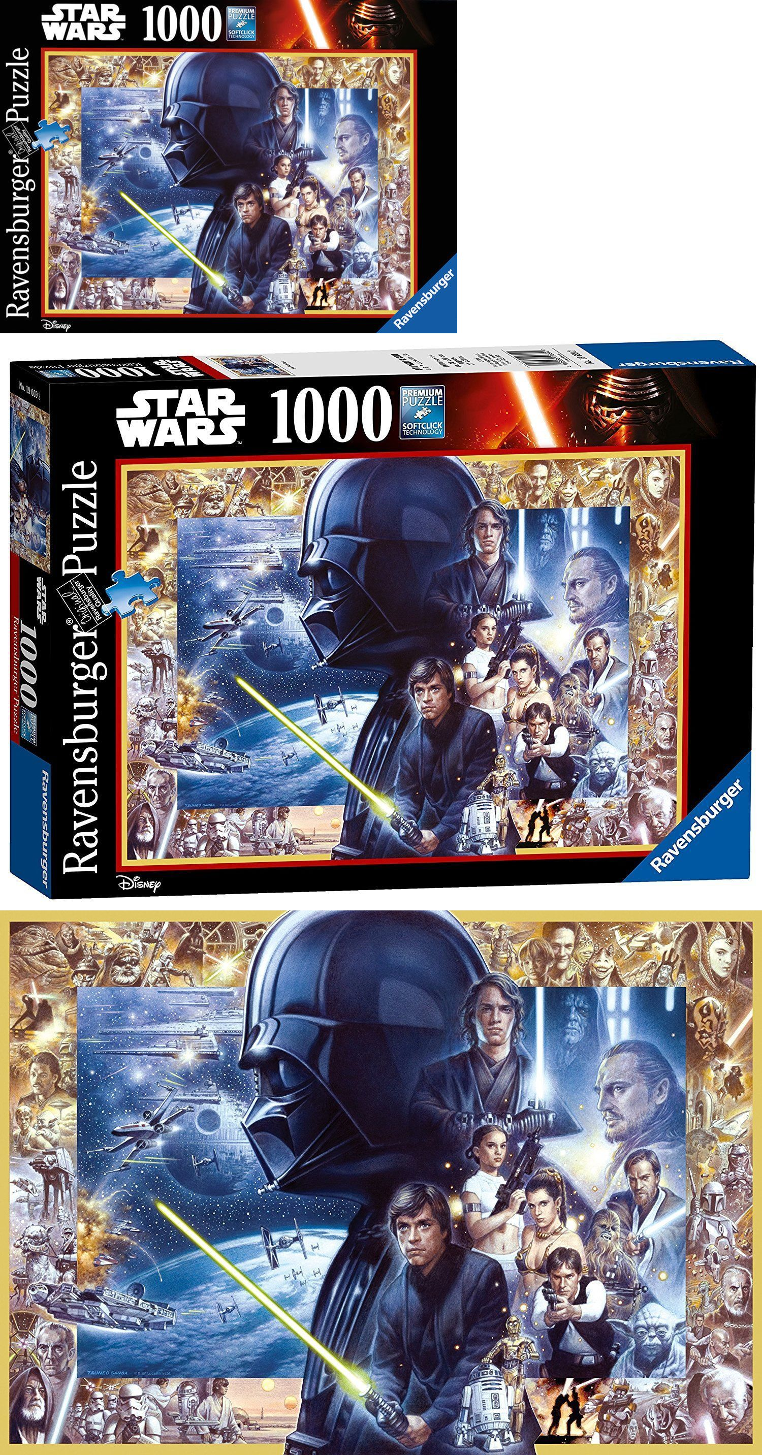 Jigsaw 19183 Star Wars Saga Disney 1000