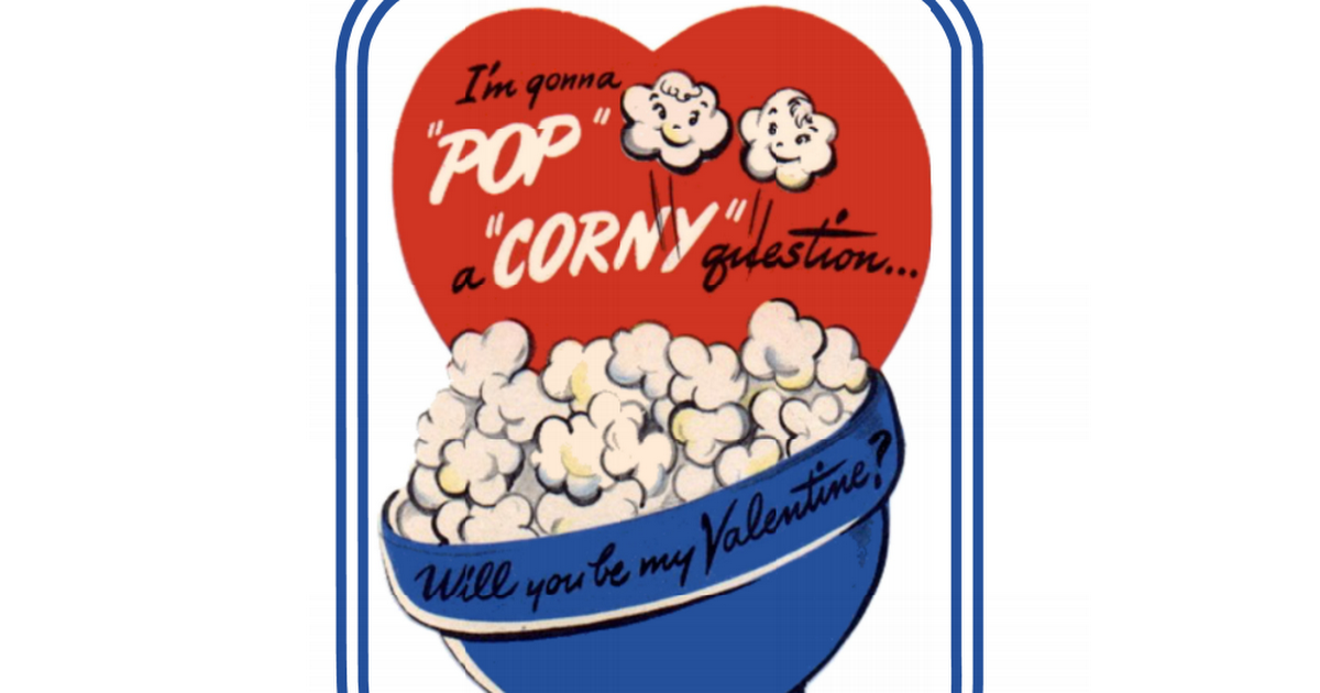 graphic about Popcorn Valentine Printable referred to as Printable Popcorn Valentine Tag.pdf Crafts Do-it-yourself