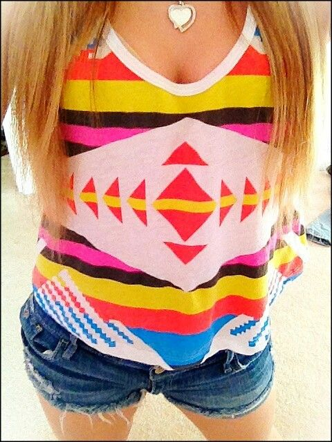 c457d583f634 Cute top ♥♥♥ Summer Outfits For Teens