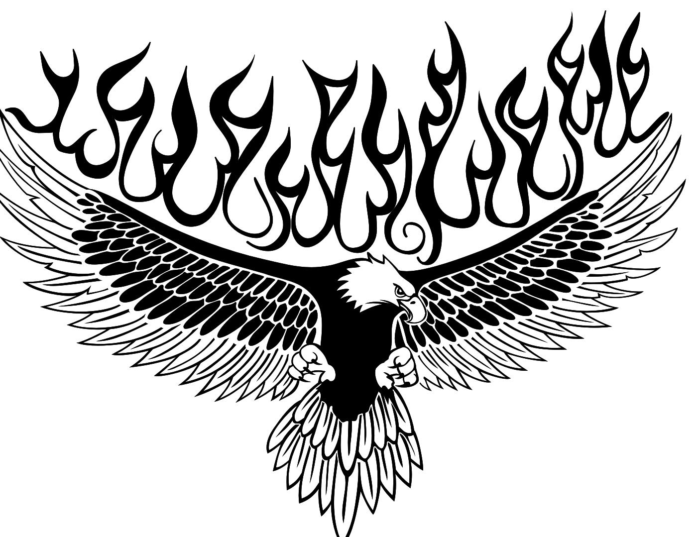 Ausmalbilder Adler