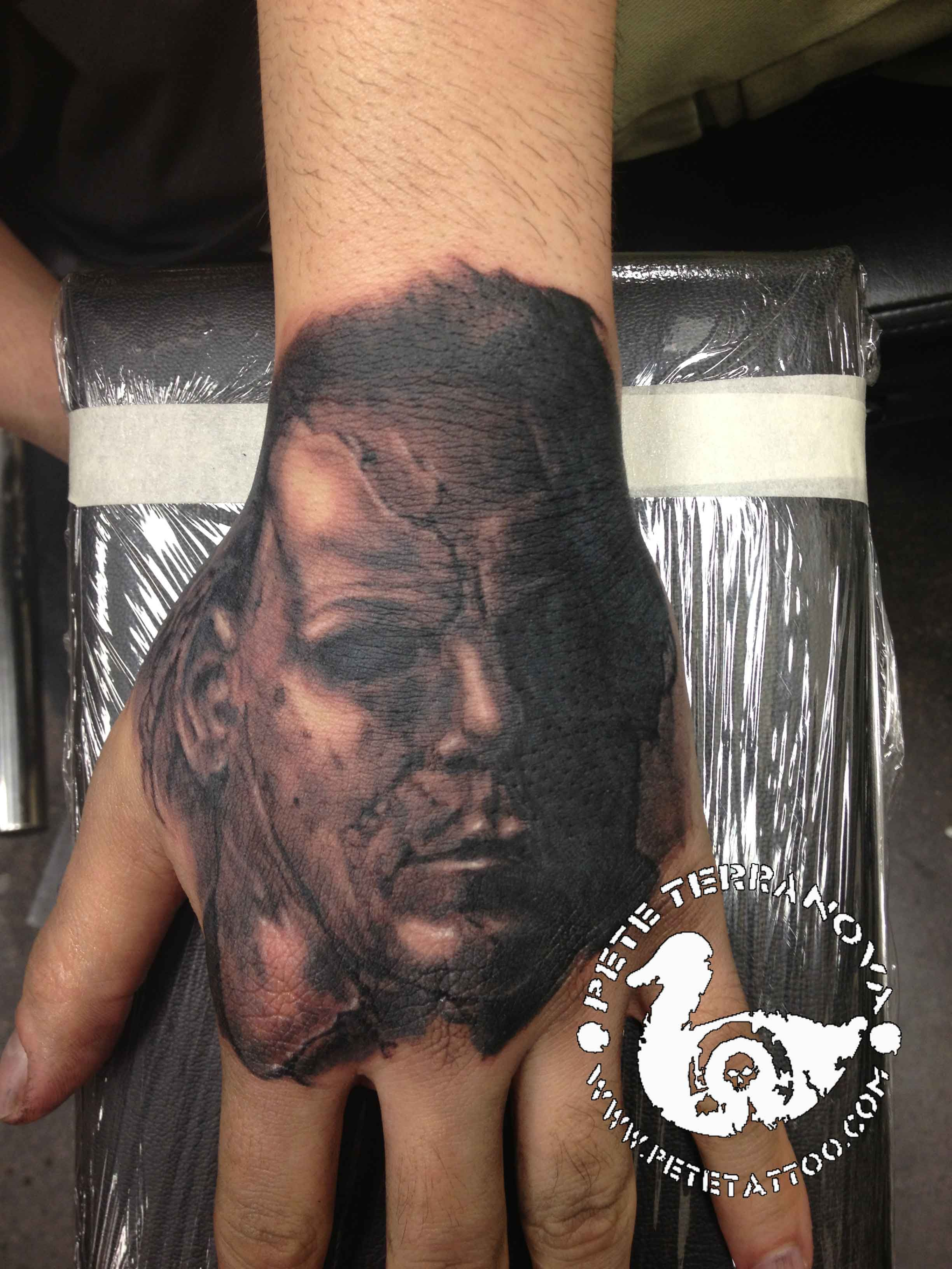Black Hand Tattoo Meaning : black, tattoo, meaning, Black, Michael, Myers, Tattoo, Tattoo,, Myers,, Micheal