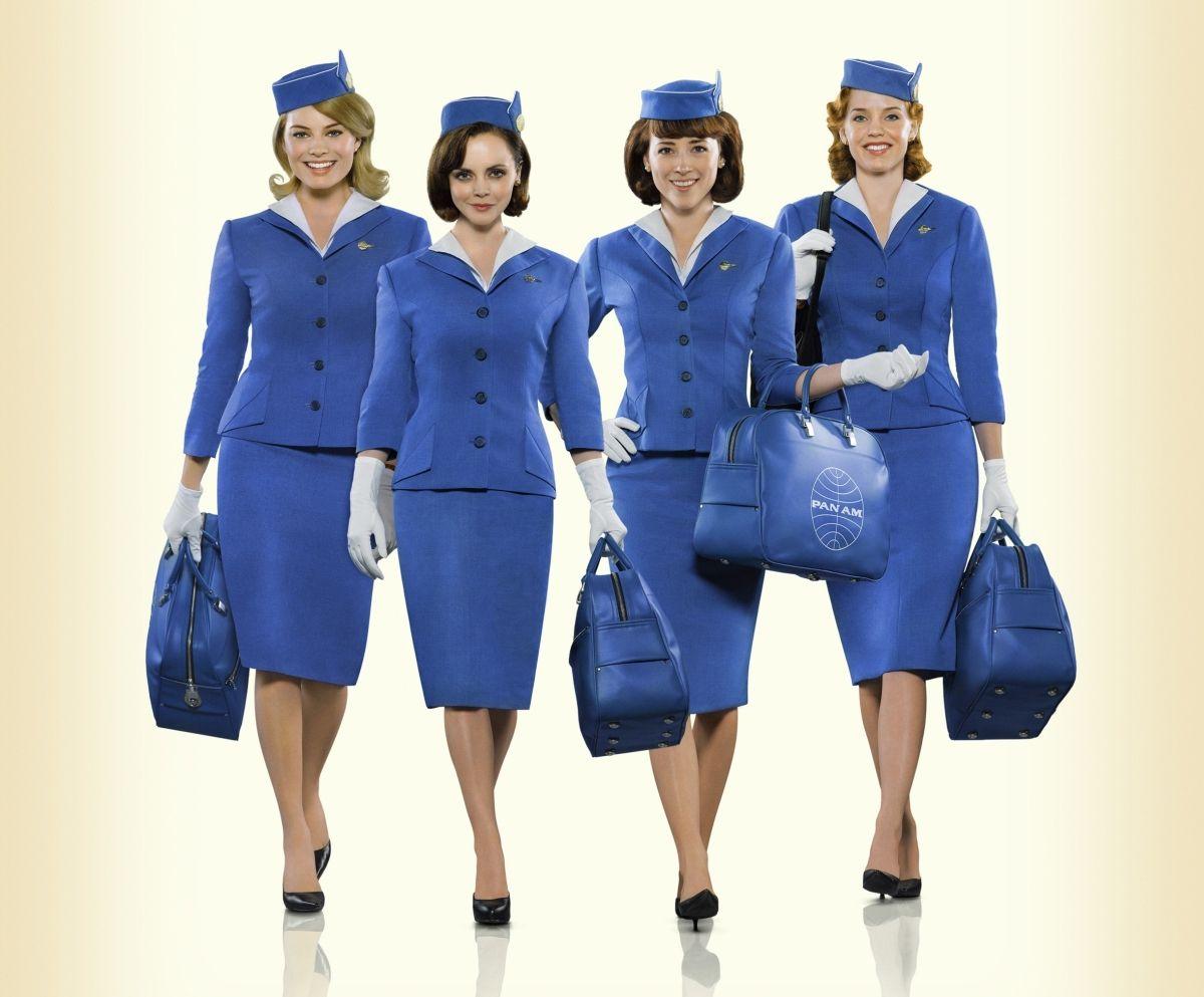 Panam Serie Netflix Margot Robbie Interpreta A Laura Cameron Christina Ricci Es Maggie Ryan Karine Vanasse Es Colette Vintage Illustraties Vintage Vliegen