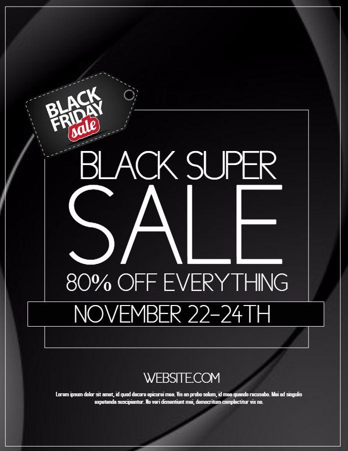 Black Friday Sale Design Template Glossy Black Friday Black Friday Flyer Black Friday Sale Design