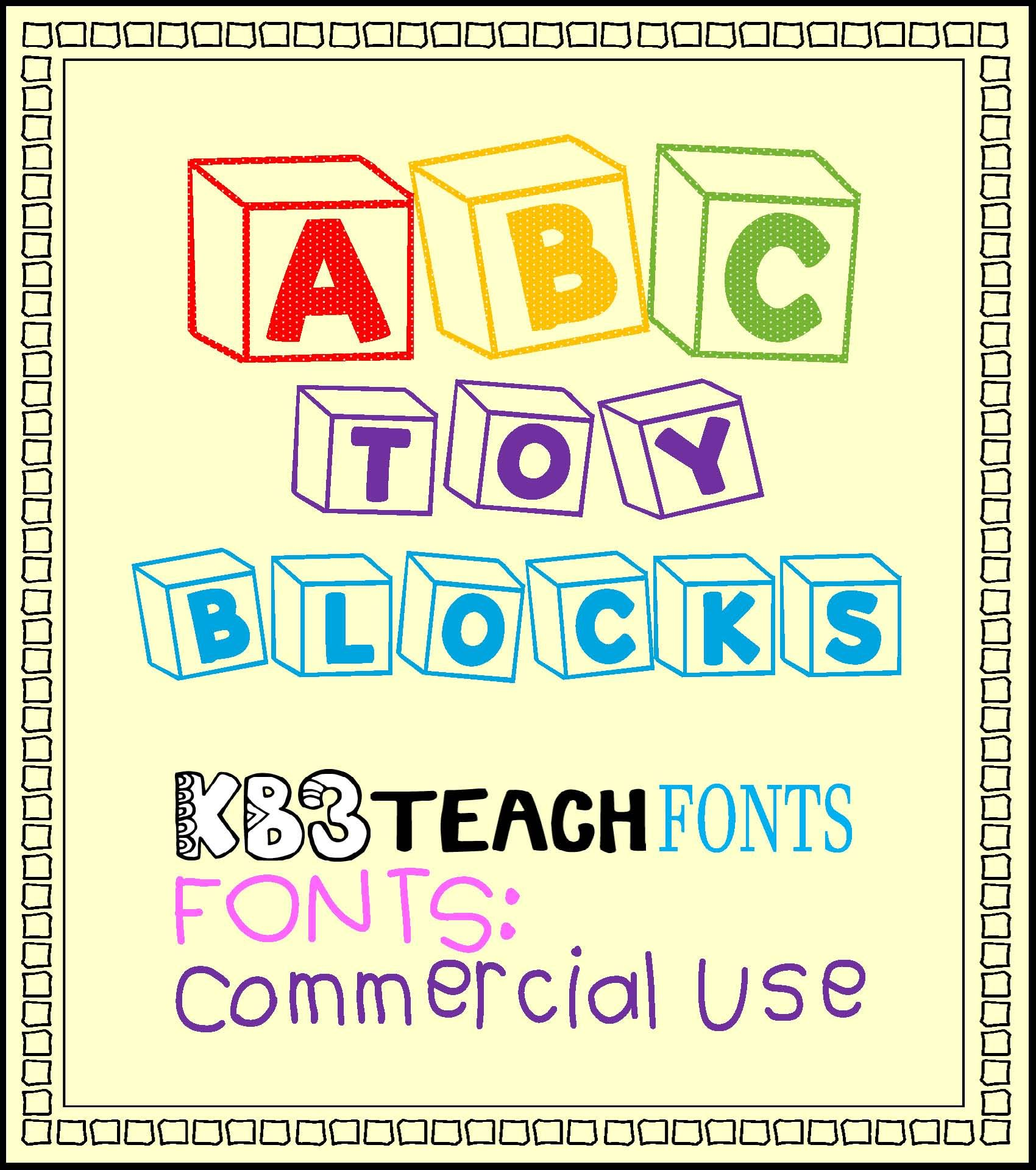 Fonts Kb3 Fun Fonts Pack 1 Personal Amp Commercial Use