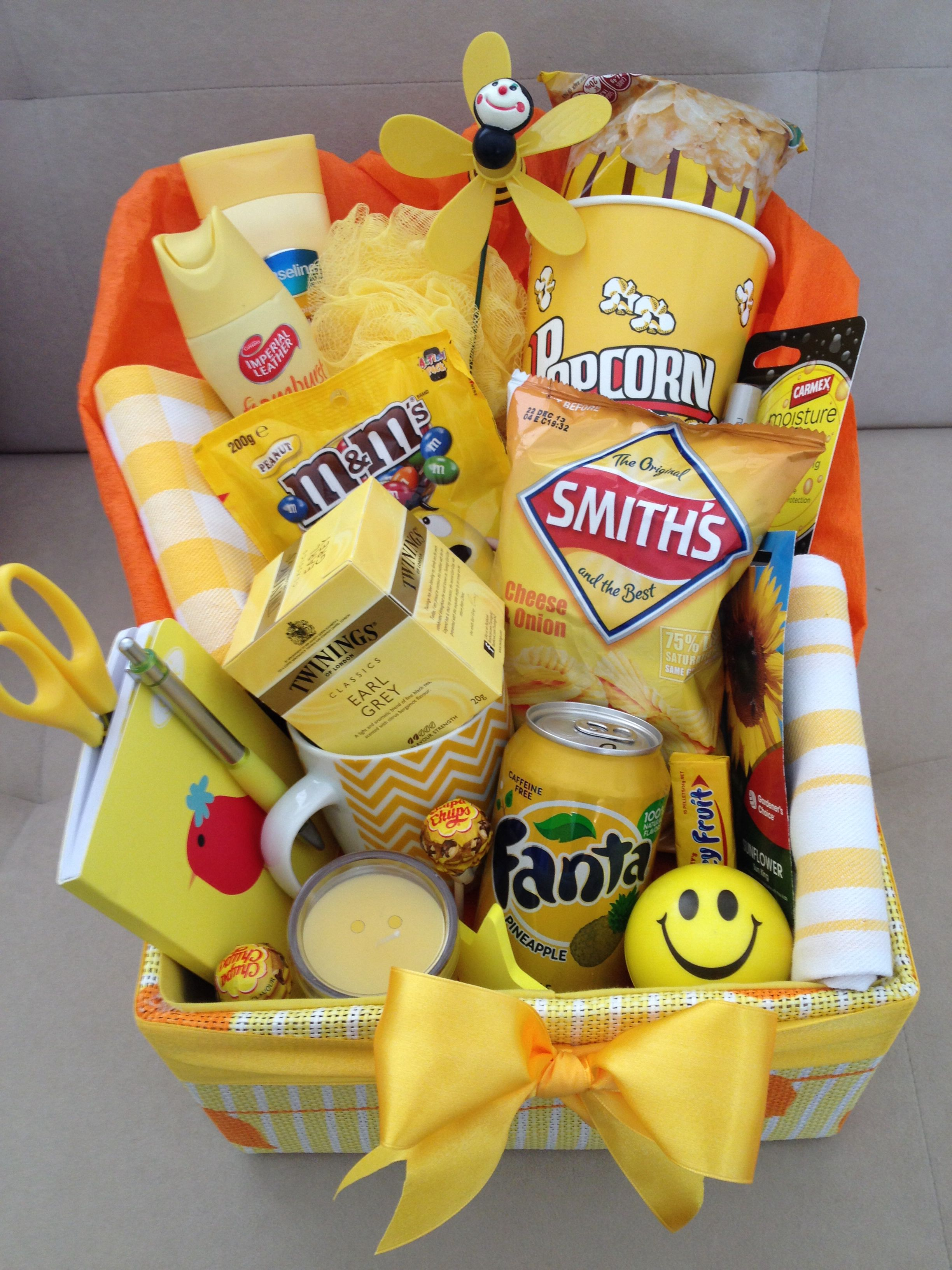 Box Of Sunshine Sunshine Gift Christmas Gift Baskets