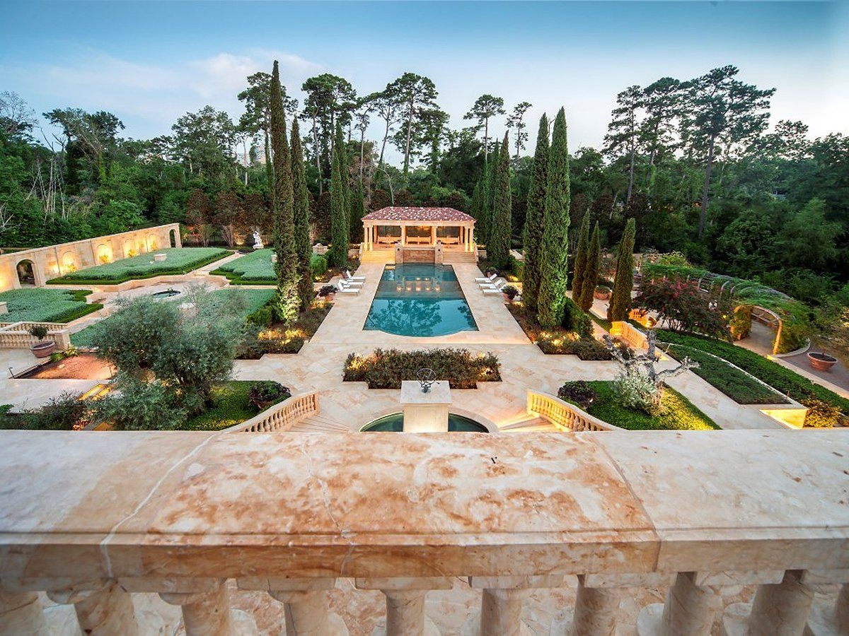 A newly built squarefoot chateau is on sale in houston