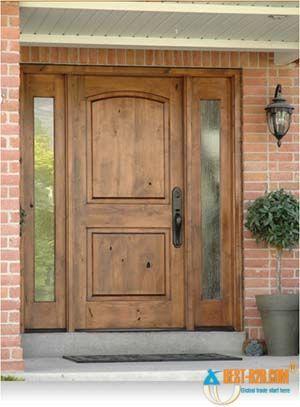 wood exterior door | :Solid wood doors, wood veneer doors, moulded ...