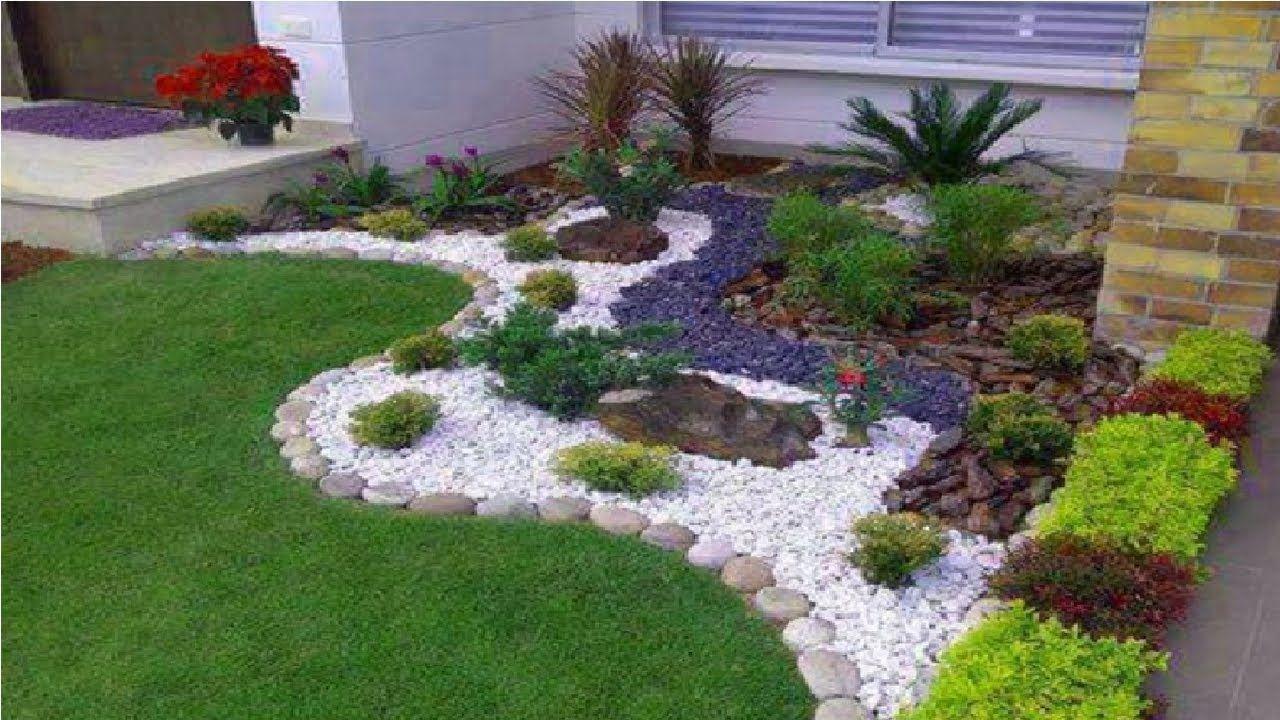 40 Creative Ideas For Garden And Backyard Decoration Perfect Garden De Small Front Yard Landscaping Front Yard Landscaping Design Rock Garden Landscaping