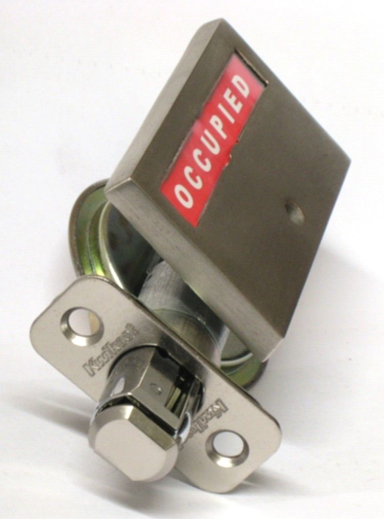 Bathroom Pocket Door Privacy Indicator Lock Fits Barn Doors Too!  Http://www.pridebarco.com/p 100.html