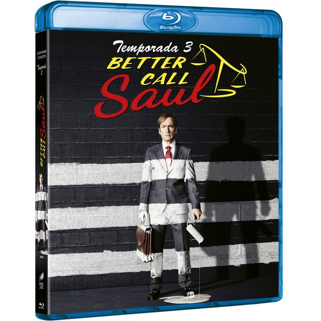 SONY PICTURES HOME ENTERTAINMENT - Better call Saul. 3ª temporada (Blu-Ray)