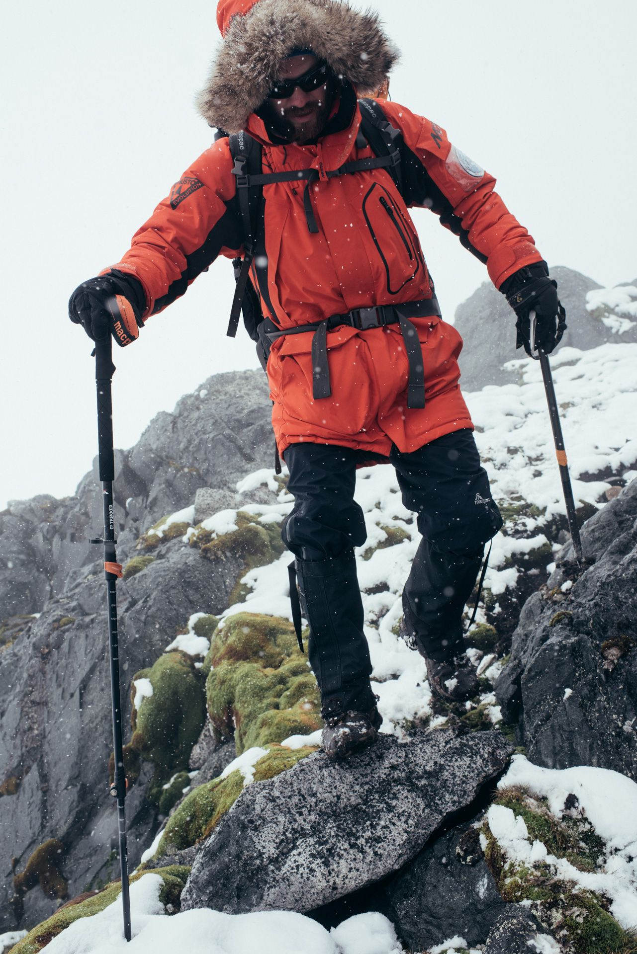 #takeonwinter in our new Survival GORE-TEX® Parka. Tried ...