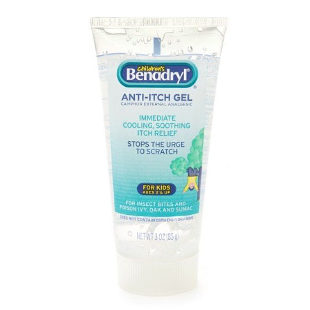 I M Learning All About Children S Benadryl Anti Itch Gel At